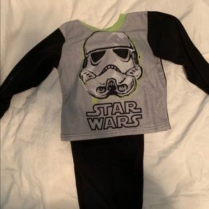 Other - Toddler Boy 4T PJs Star Wars and Rockships